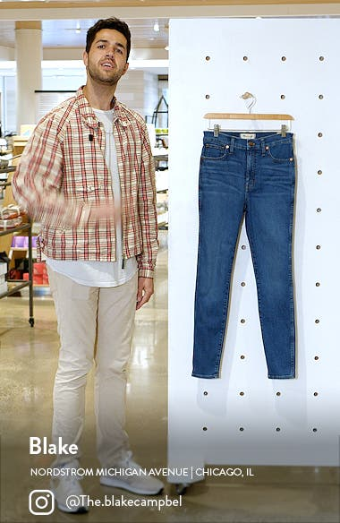 11-Inch High Waist Skinny Jeans, sales video thumbnail