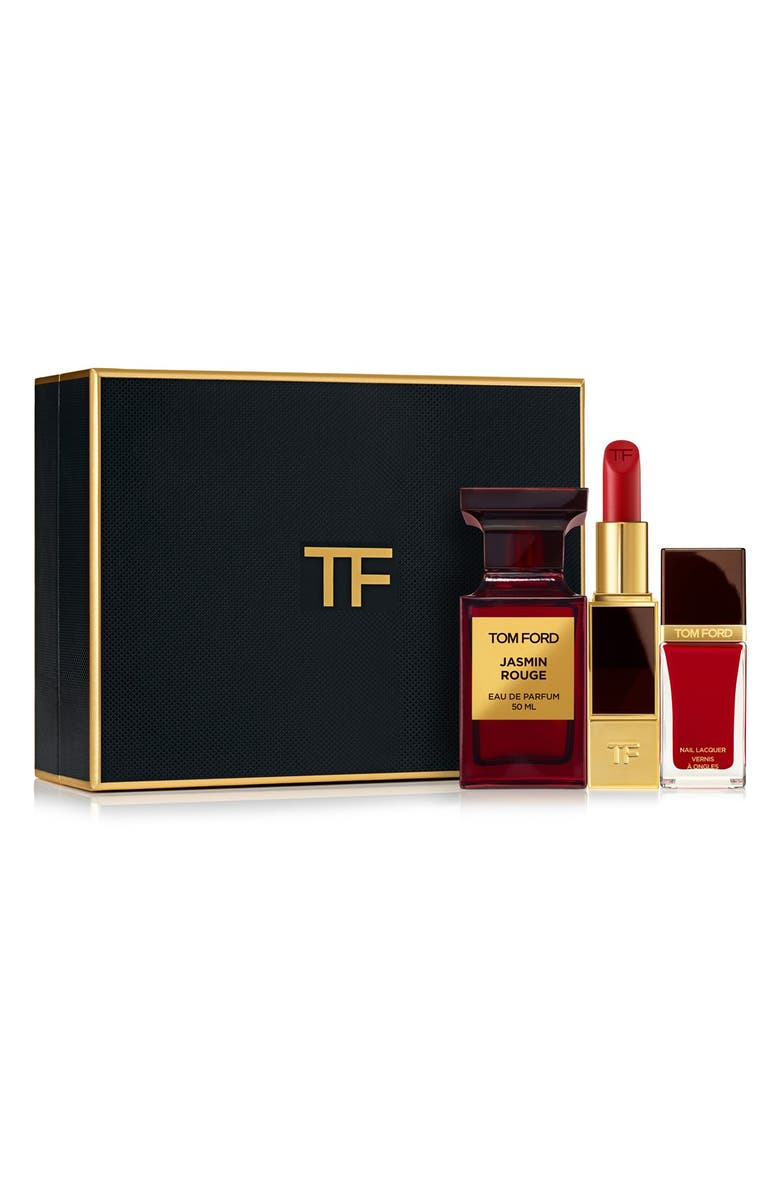 TOM FORD Private Blend 'Jasmin Rouge' Cosmetics Set, Main, color, 000