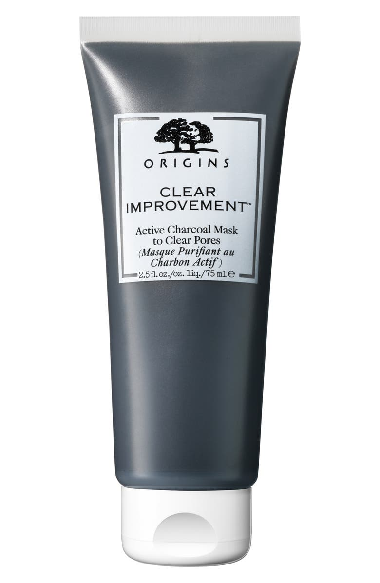 ORIGINS Clear Improvement<sup>™</sup> Active Charcoal Mask to Clear Pores, Main, color, 000