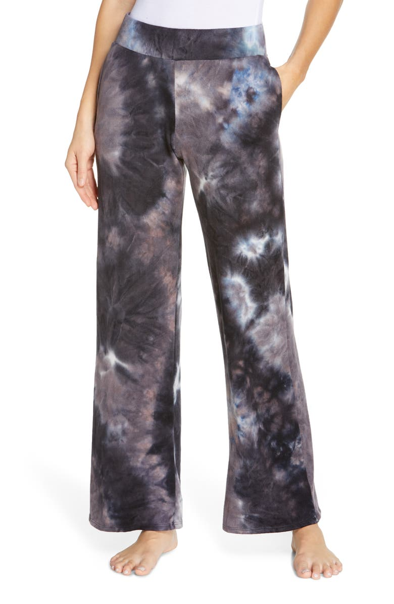 SOCIALITE Tie Dye Lounge Sweatpants, Main, color, 001