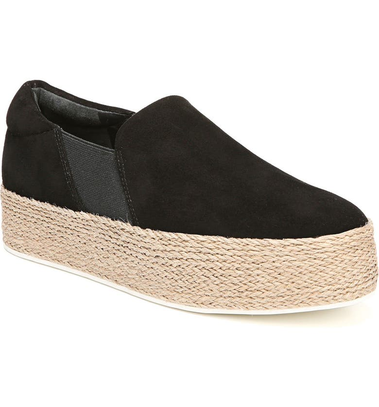 VINCE Wilden Flatform Espadrille, Main, color, 001