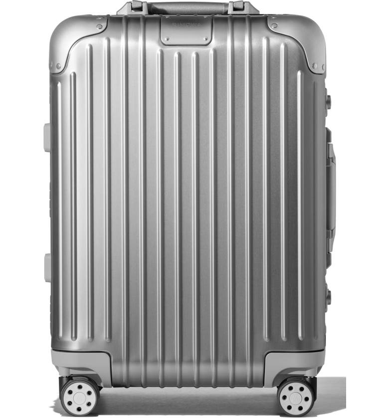 RIMOWA Original Cabin 22-Inch Wheeled Carry-On, Main, color, SILVER