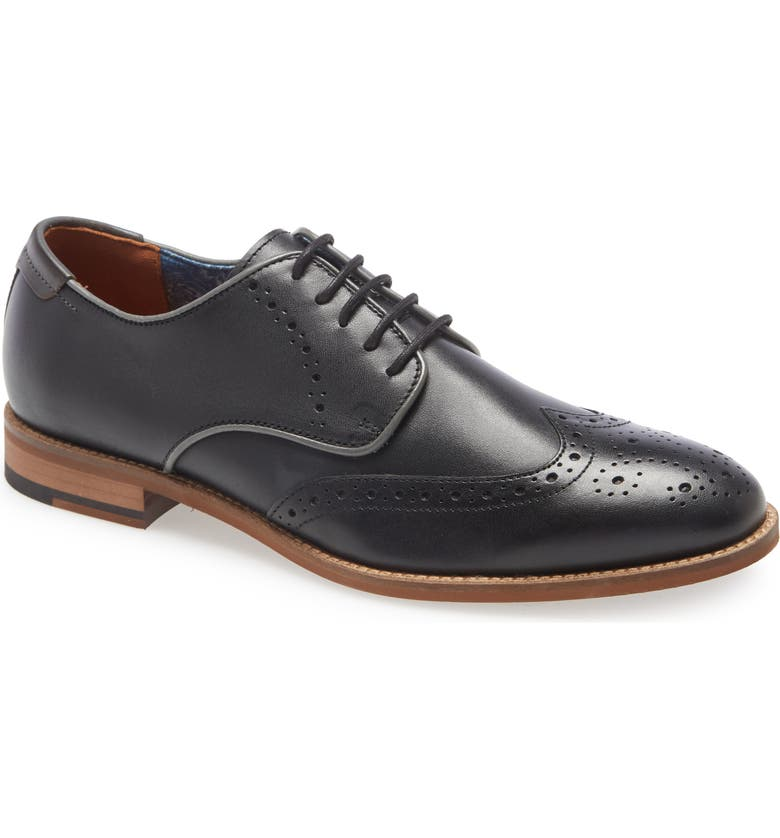 JOHNSTON & MURPHY Milliken Wingtip Derby, Main, color, 001