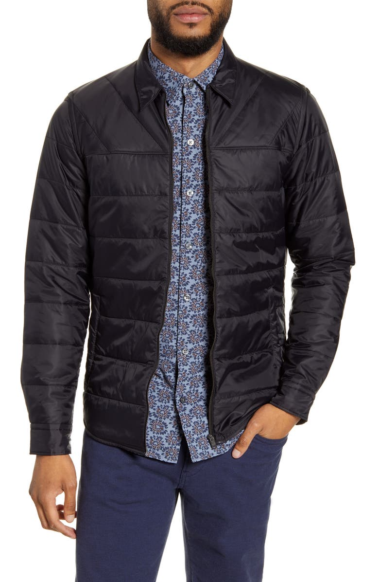 BOSS Landolfo Quilted Jacket, Main, color, 001