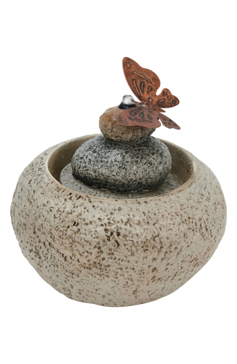 FORESIDE Stonecarved Cairn Fountain, Main, color, 020