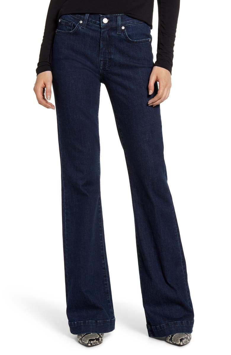 7 FOR ALL MANKIND<SUP>®</SUP> Dojo Flare Jeans, Main, color, 400