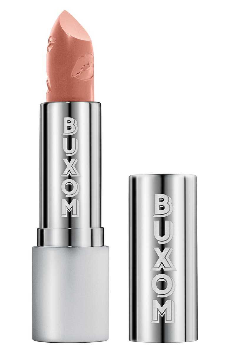 BUXOM Full Force '90s Nudes Plumping Lipstick, Main, color, HEARTTHROB