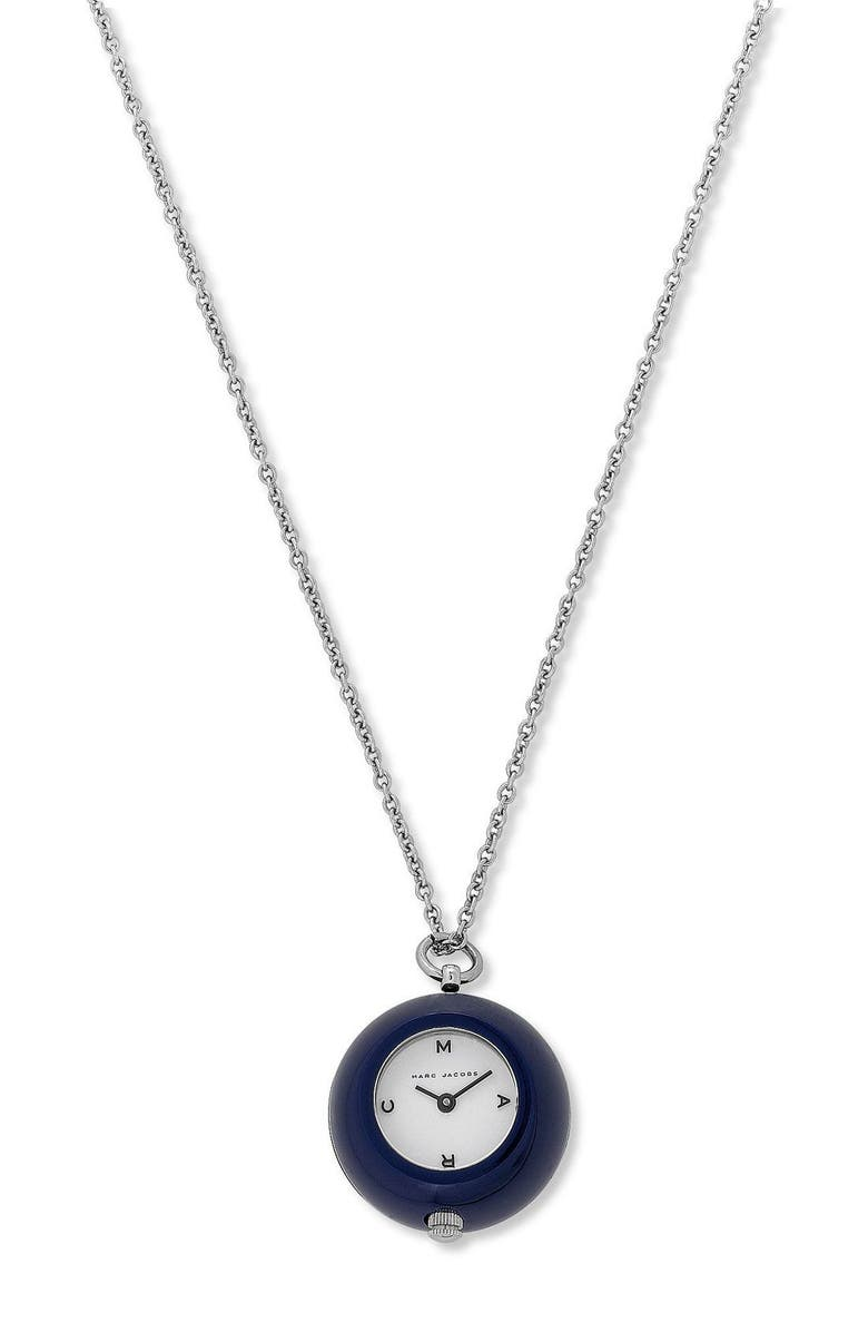 MARC BY MARC JACOBS Bauble Watch on Chain, Main, color, BEY