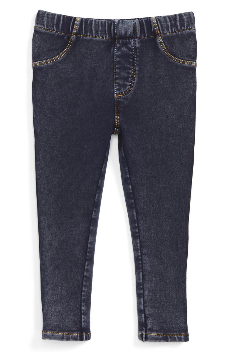 TUCKER + TATE Denim Jeggings, Main, color, DARK INDIGO WASH