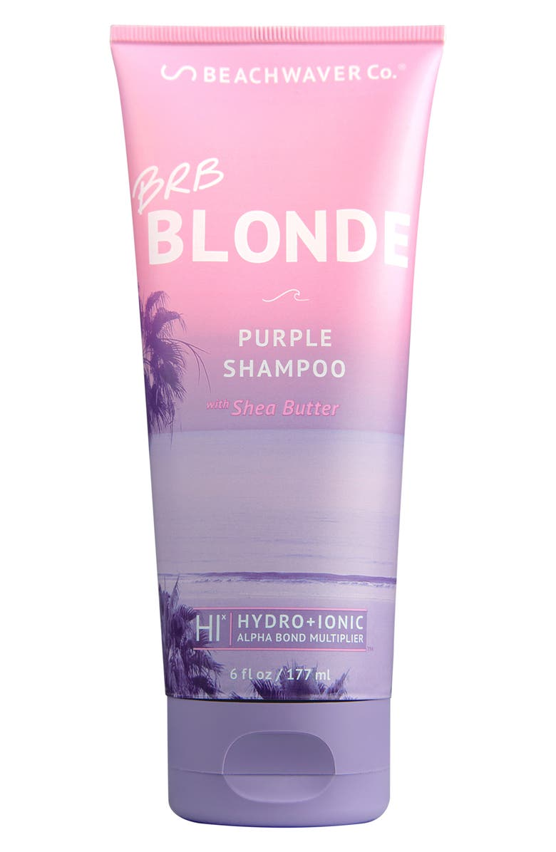 BEACHWAVER<SUP>®</SUP> CO. The Beachwaver Co.<sup>™</sup> BRB Blonde Purple Shampoo, Main, color, 000
