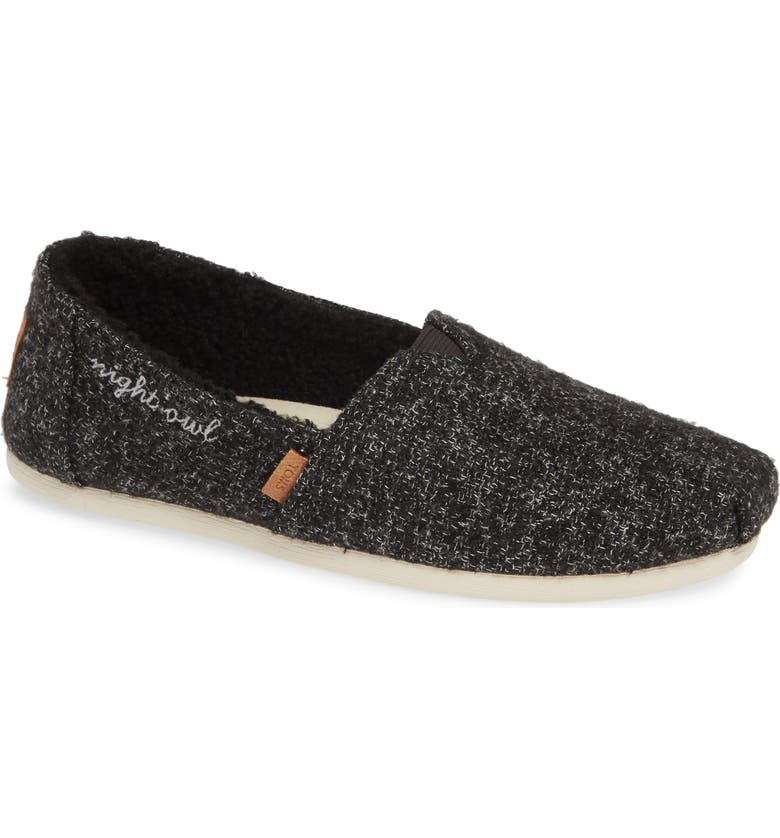 TOMS Classic - Alpargata Slip-On, Main, color, 001