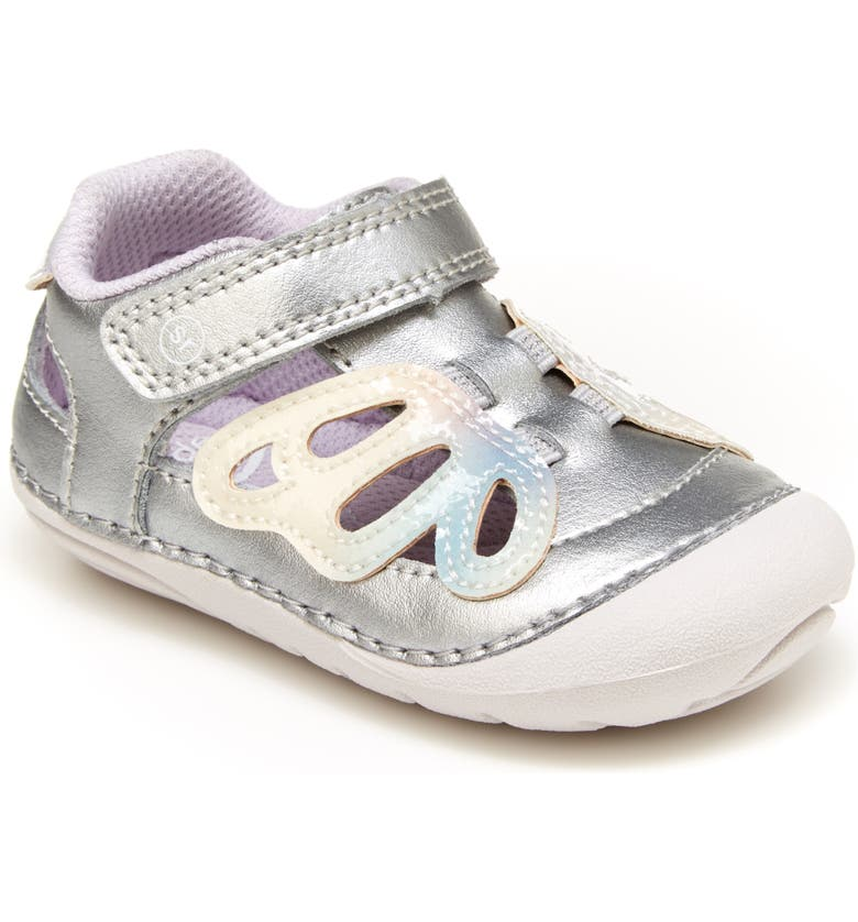 STRIDE RITE Soft Motion<sup>™</sup> Posie Sandal, Main, color, SILVER