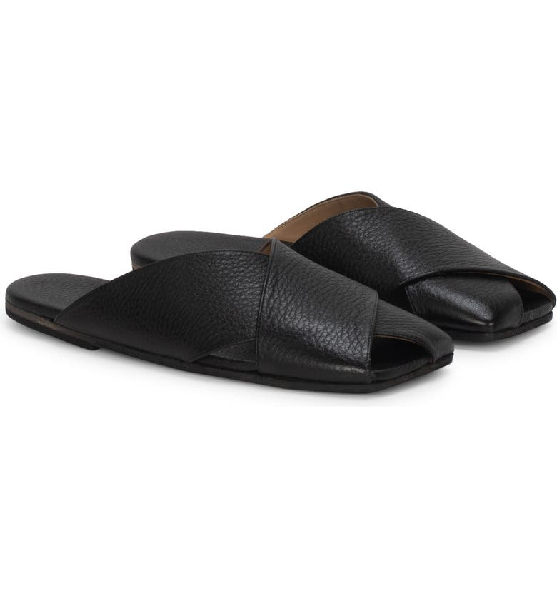 MARSÈLL Spatola Slide Sandal, Main, color, BLACK