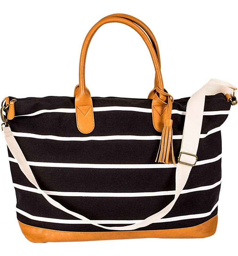 CATHY'S CONCEPTS Cathys Concepts Monogram Oversized Tote, Main, color, 001