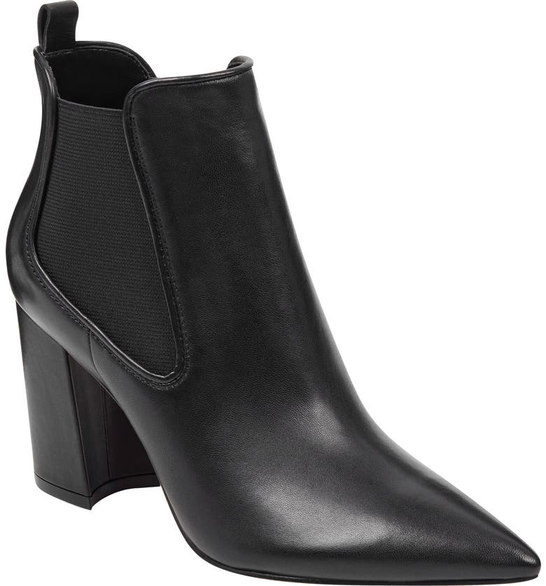 MARC FISHER LTD Tacily Pointed Toe Bootie, Main, color, 001