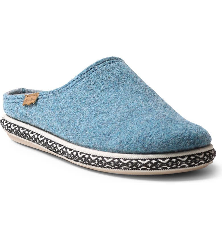 TONI PONS Miri Slipper, Main, color, BLUE WOOL