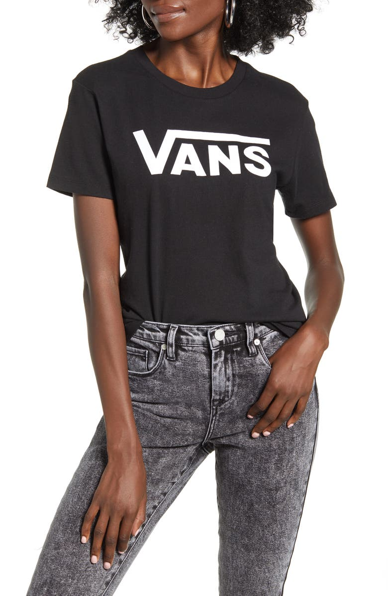 VANS Flying V Graphic Tee, Main, color, 001