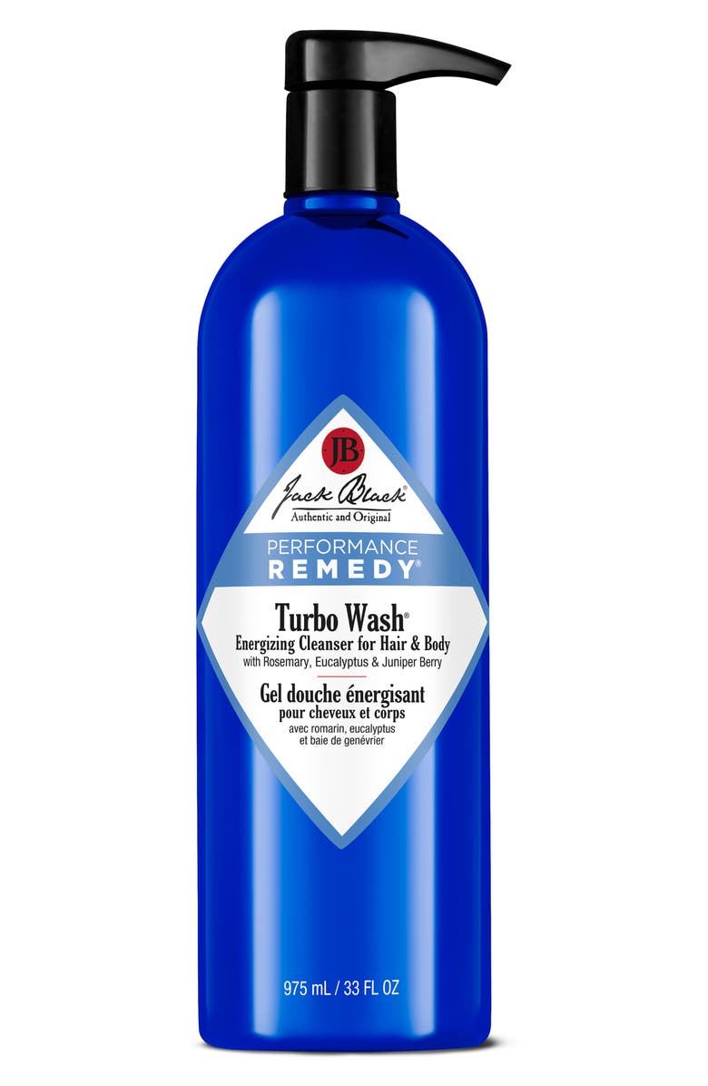 JACK BLACK Turbo Wash<sup>®</sup> Energizing Cleanser for Hair & Body, Main, color, NO COLOR