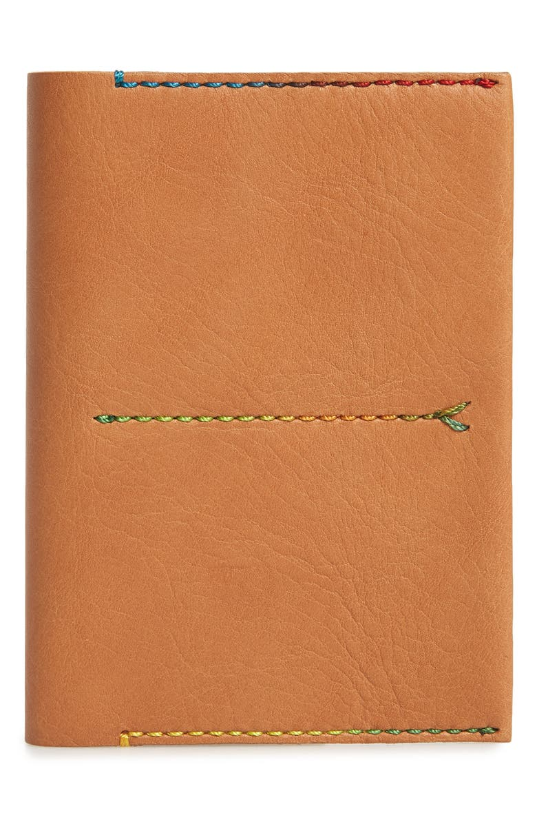 MADEWELL The Leather Passport Case, Main, color, 250
