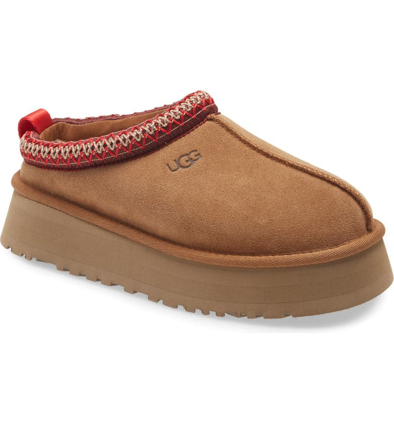 UGG<SUP>®</SUP> Tazz Mule, Main, color, CHESTNUT