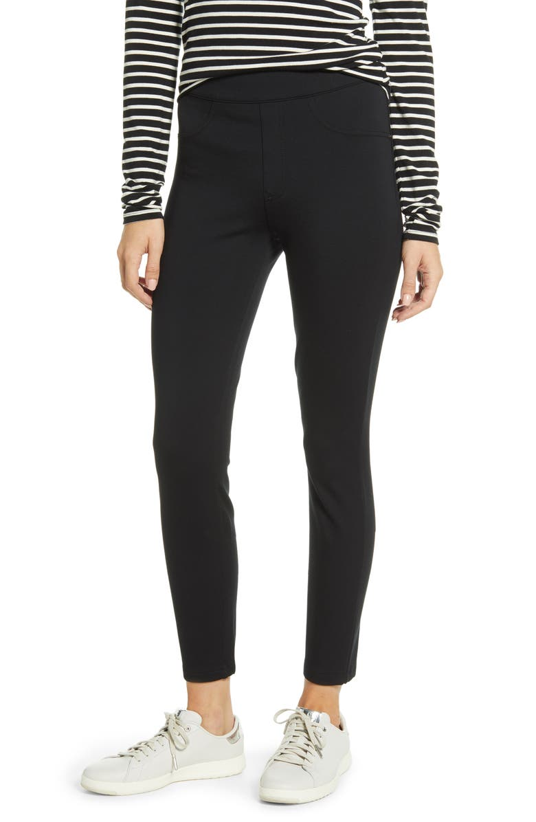 SPANX<SUP>®</SUP> The Perfect Black Pant - Four Pocket Tall Leggings, Main, color, 019