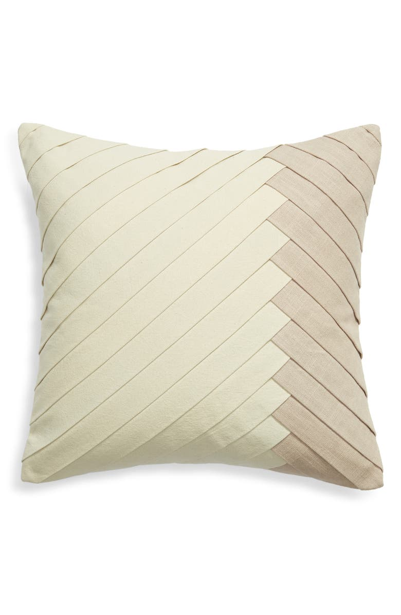NORDSTROM Pleated Accent Pillow, Main, color, 270