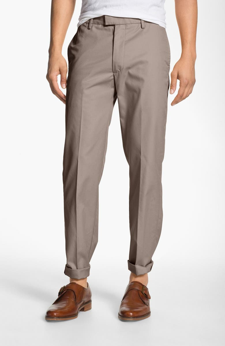 DOCKERS<SUP>®</SUP> 'SF Khaki' Modern Slim Fit Dress Chinos, Main, color, 078