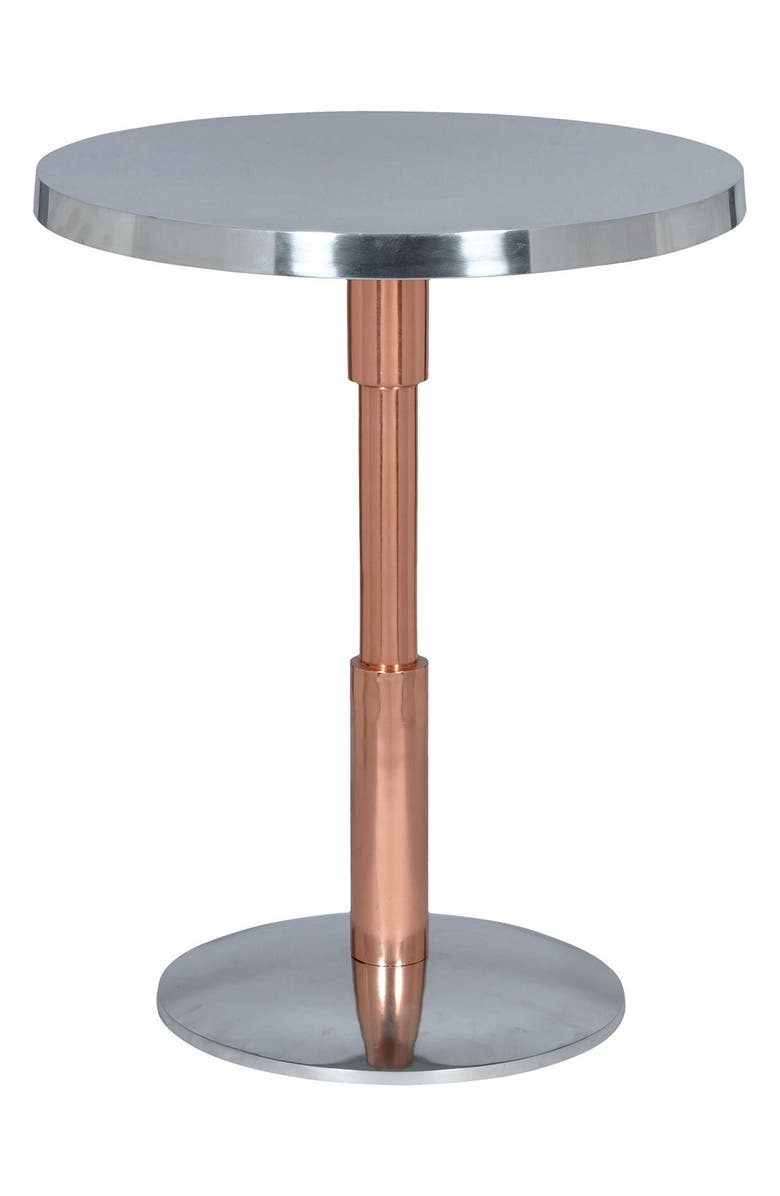 RENWIL 'Kristof' Accent Table, Main, color, COPPER/ GREY