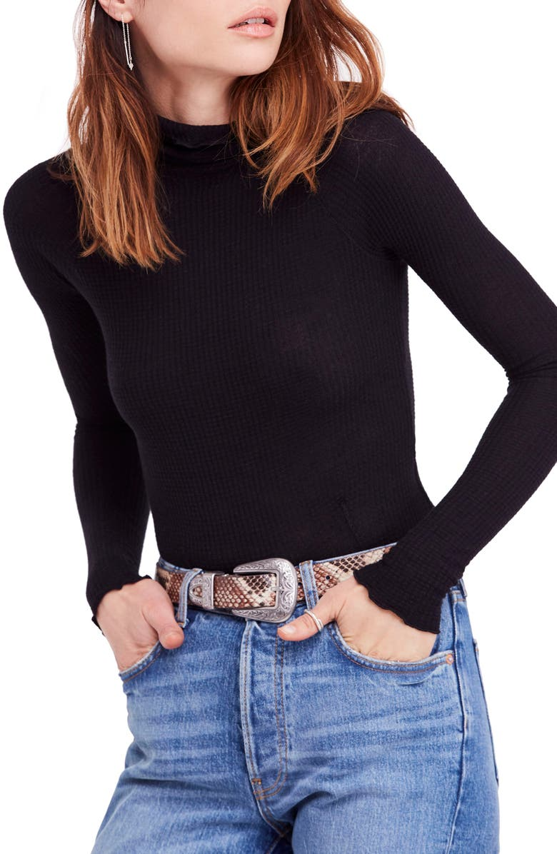 FREE PEOPLE Skyline Thermal Top, Main, color, 001