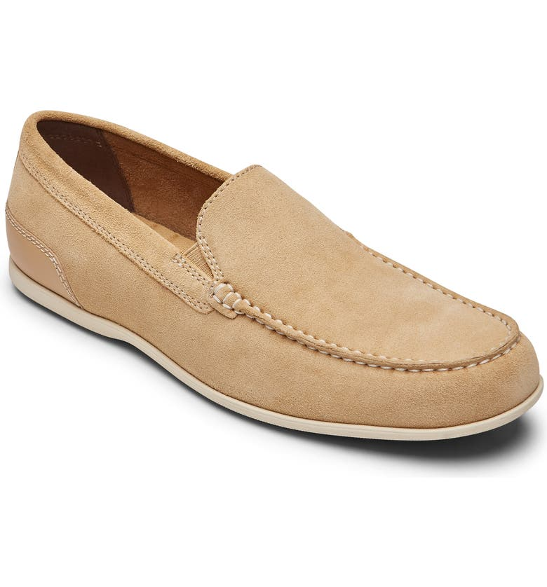 ROCKPORT Malcom Loafer, Main, color, TAN SUEDE
