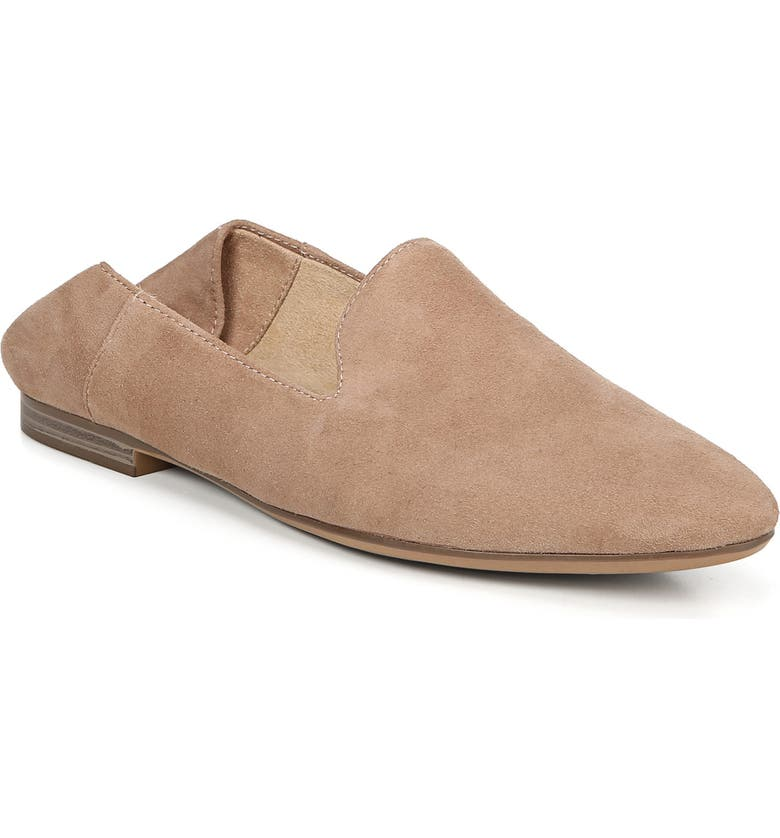 NATURALIZER Lorna Collapsible Heel Loafer, Main, color, GINGERSNAP SUEDE