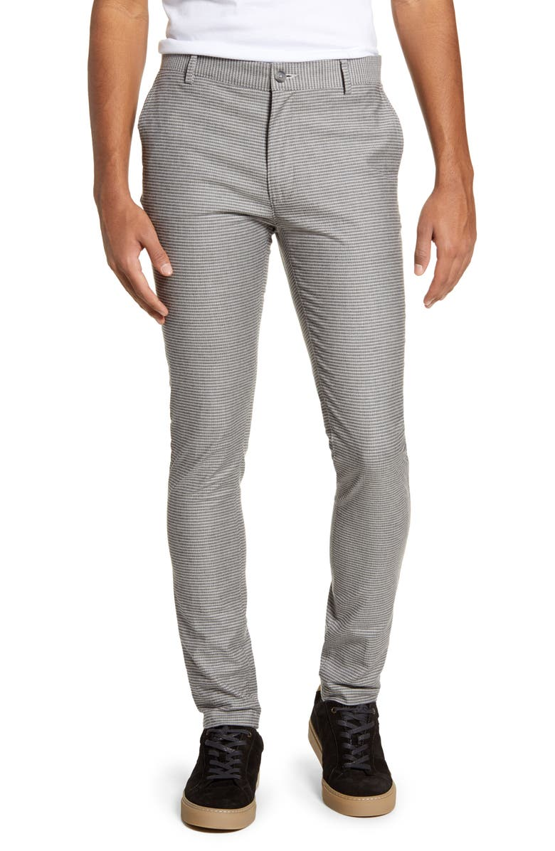 TOPMAN Stretch Skinny Fit Chinos, Main, color, 020