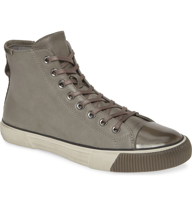 ALLSAINTS Osun Sneaker, Main, color, CHARCOAL GREY