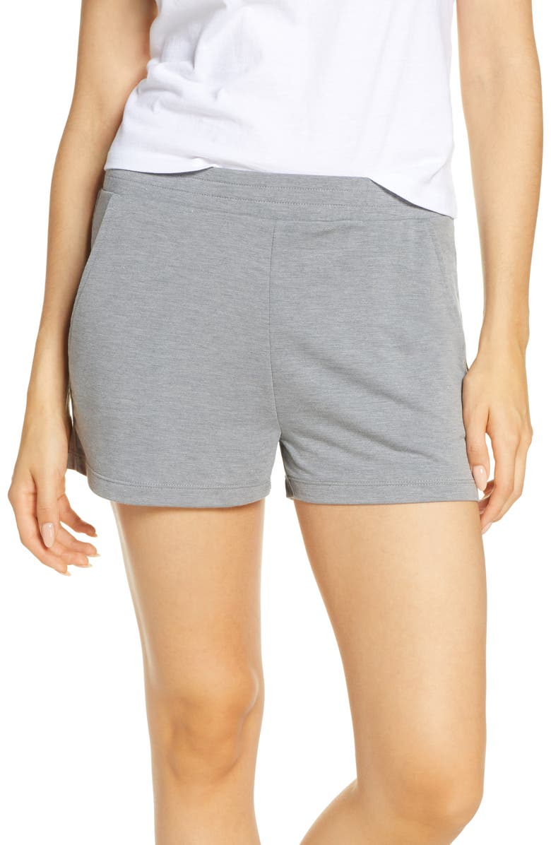 JOE'S Fleece Lounge Shorts, Main, color, 020
