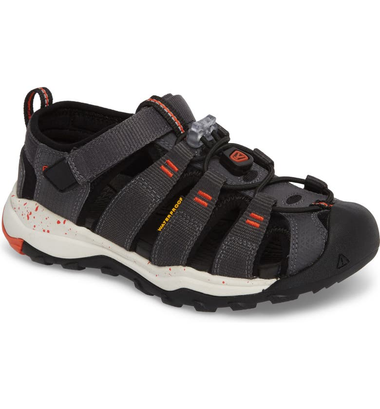 KEEN Newport Neo H2 Water Friendly Sandal, Main, color, MAGNET/ SPICY ORANGE