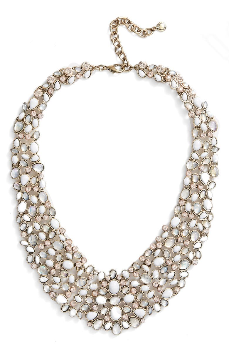 BAUBLEBAR 'Kew' Crystal Collar Necklace, Main, color, 101