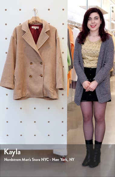 Hannah Slouchy Double Breasted Blazer, sales video thumbnail