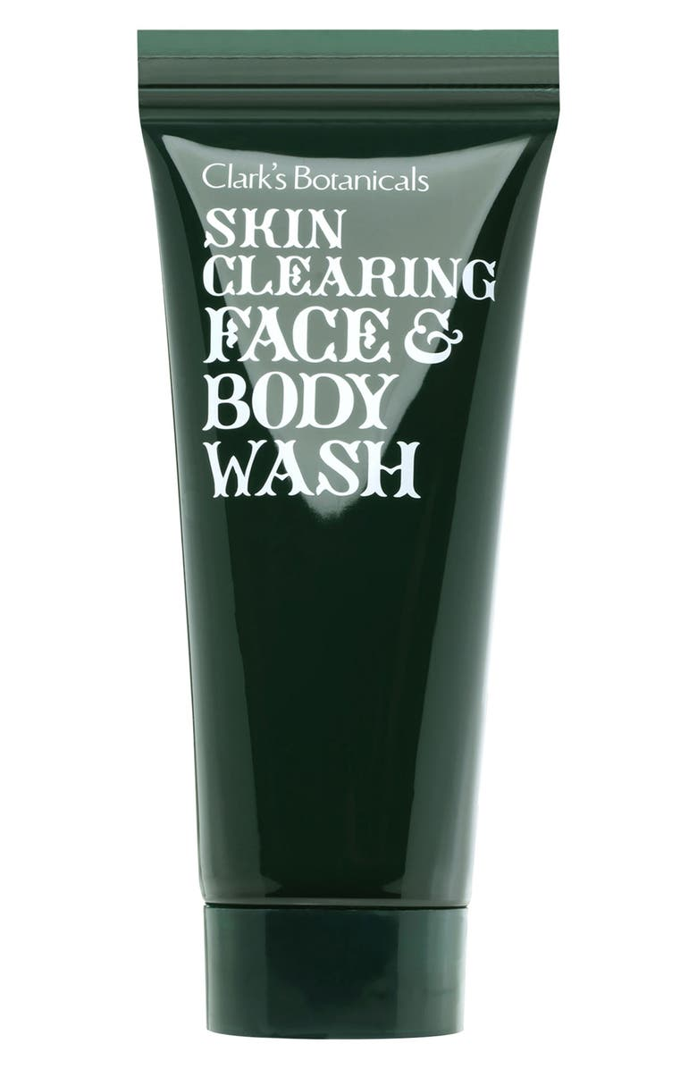 CLARK'S BOTANICALS Skin Clearing Face & Body Wash, Main, color, 000