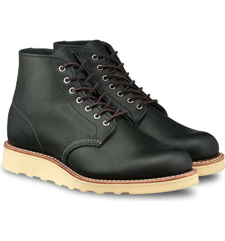 RED WING 6-Inch Round Toe Boot, Main, color, 001