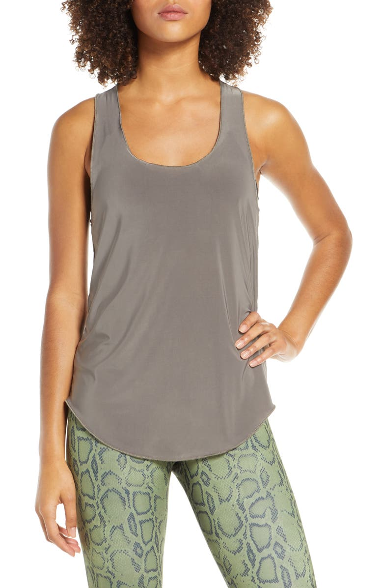 ONZIE 'Glossy Flow' Racerback Tank, Main, color, 021