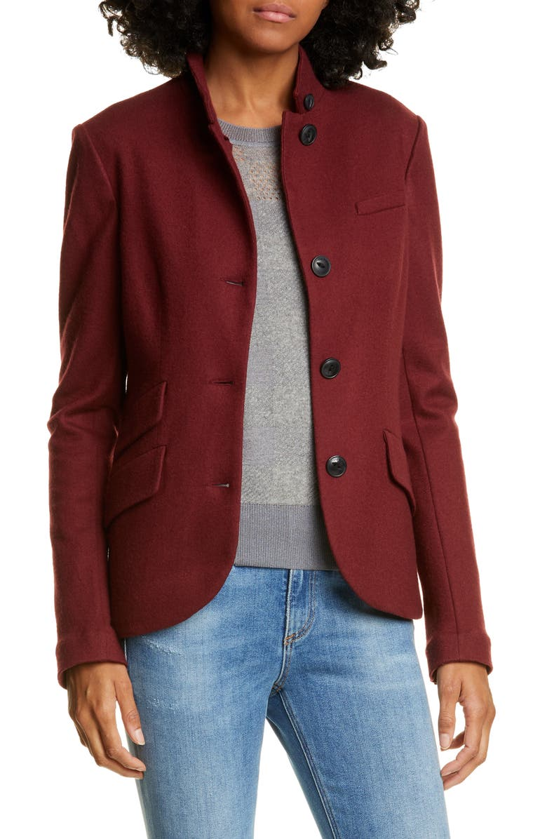 RAG & BONE Slade Wool Blazer, Main, color, 605