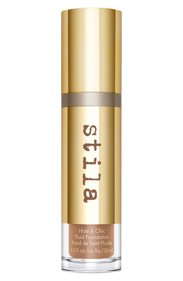 STILA Hide & Chic Foundation, Main, color, TAN/ DEEP 1