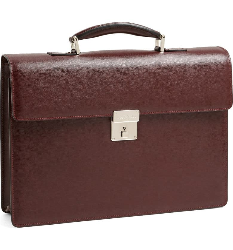 CANALI Business Case, Main, color, BURGUNDY