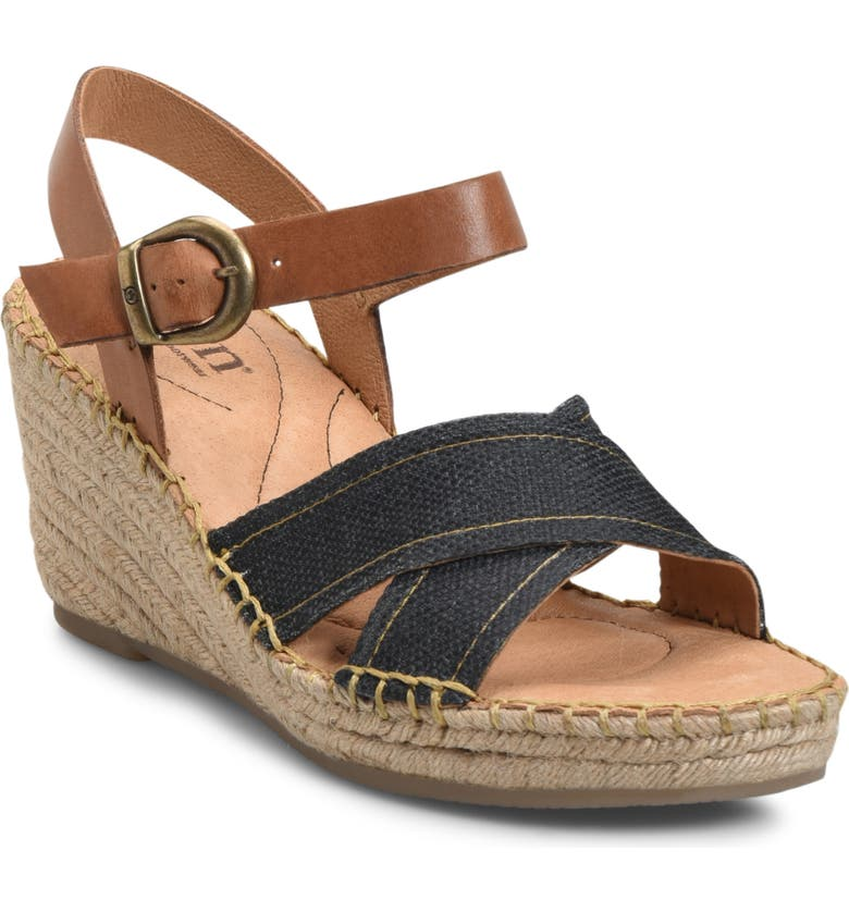 BØRN Payette Wedge Sandal, Main, color, 001