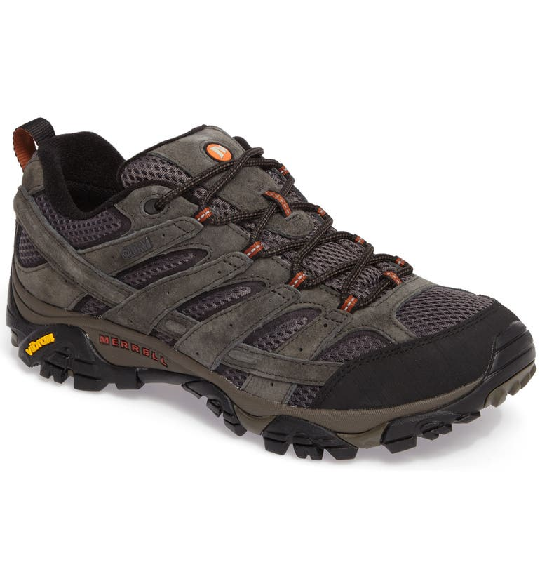 MERRELL Moab 2 Waterproof Hiking Shoe, Main, color, 010