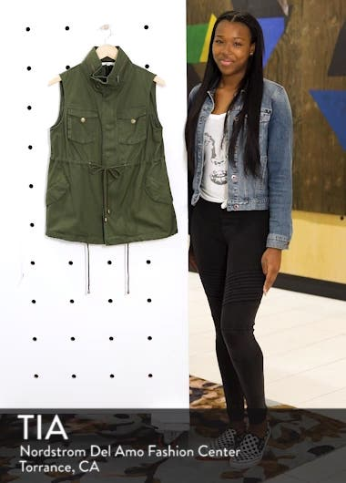Cotton Twill Military Vest, sales video thumbnail