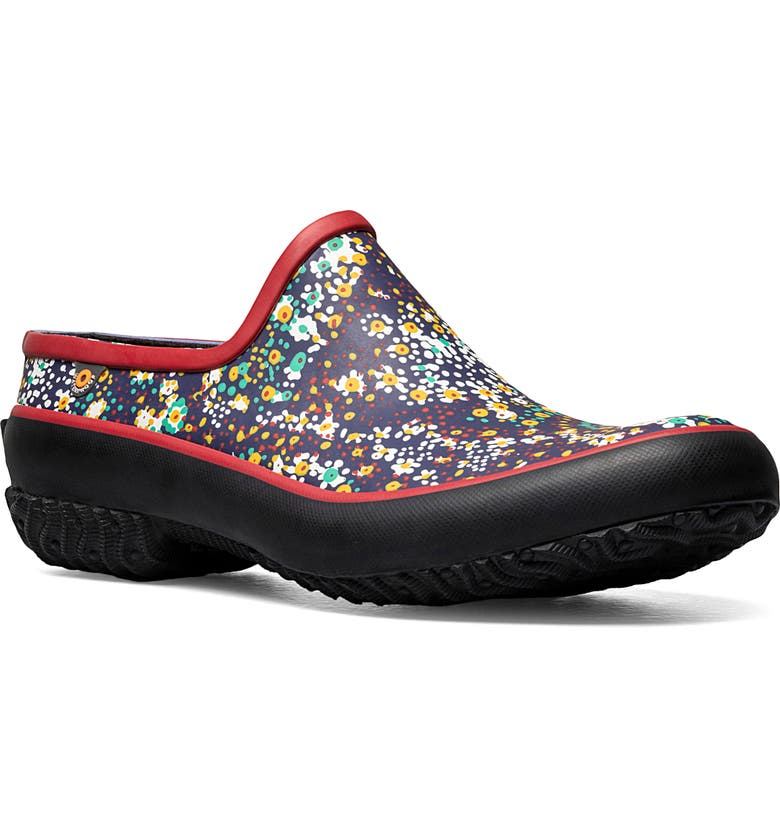 BOGS Patch Clog, Main, color, RED MULTI