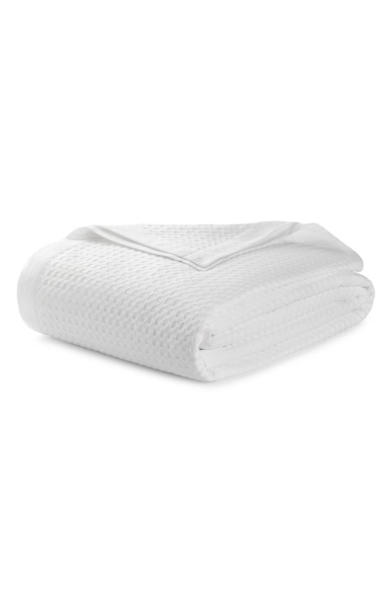 UGG<SUP>®</SUP> Etta Thermal King Blanket, Main, color, SNOW