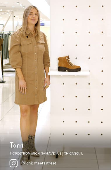Nairy Lace-Up Bootie, sales video thumbnail