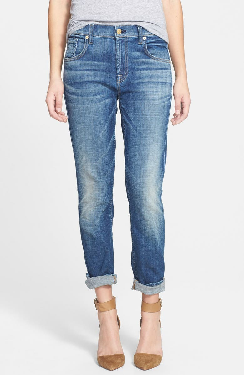 7 FOR ALL MANKIND<SUP>®</SUP> 'Josefina' Relaxed Skinny Jeans, Main, color, 400
